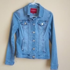 Guess jacket jeans for women